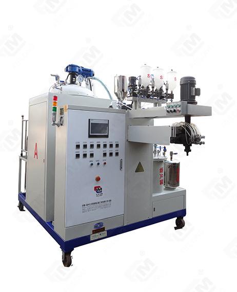 Multi-color addable TDI high temperature PU elastomer casting